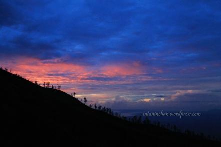 Menjelang sunrise