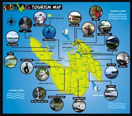Peta Pulau Weh. Sumber : piyoh.blogspot.com