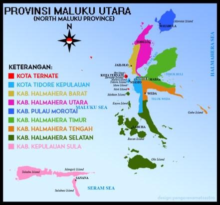 Peta Maluku Utara (sumber : journalkinchan.blogspot.com)