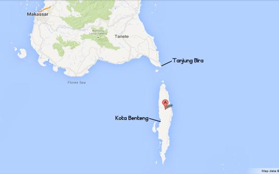 Lokasi Pulau Selayar