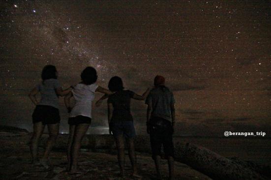 Langit Taka Bonerate itu surganya bintang
