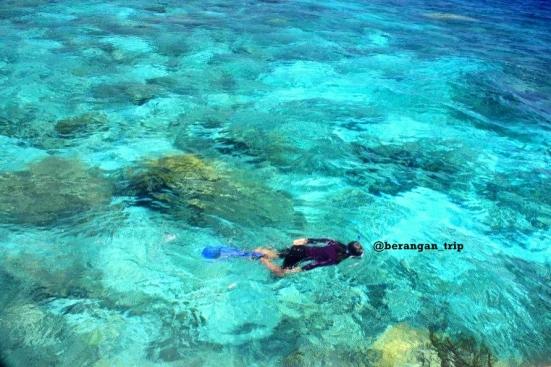 Suka banget sama warna airnya