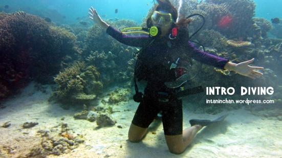 Buoyancy test, berdiri memakai lutut