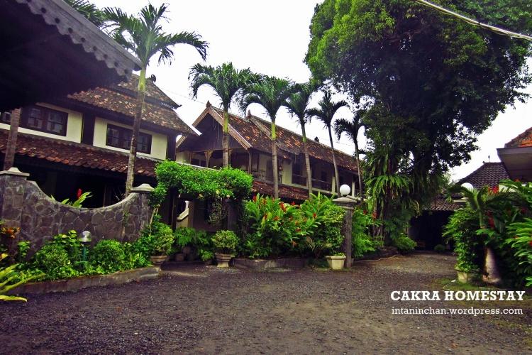 Bangunan Cakra Homestay di Kampung Kauman