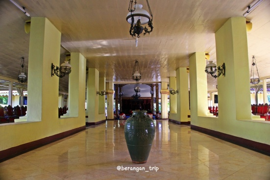 Koridor di Keraton Sumenep