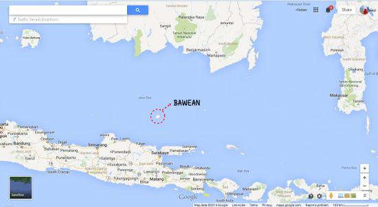 Letak Pulau Bawean